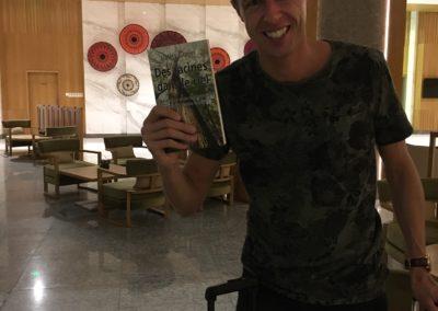 Un lecteur heureux